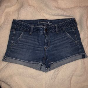 American Eagle Medium Wash Shorts